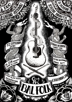 Affiche du Carambal du 12 septembre 2015